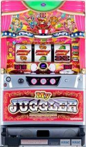 ジャグラー命のマイジャグラー4筐体