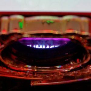 マイジャグラー4のGOGOランプを上から撮影