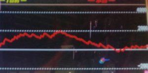ファンキージャグラーの高設定挙動のグラフ