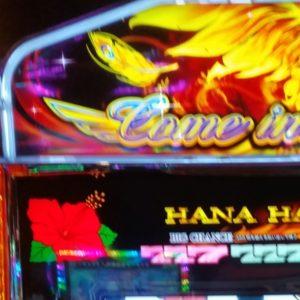 ハナハナ鳳凰のBIG中